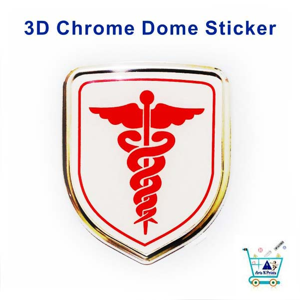 Doctor logo top quality sticker