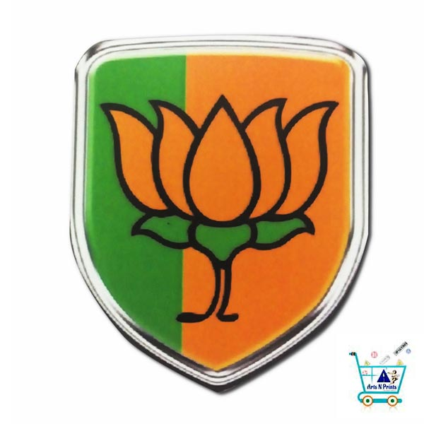 BJP Symbol Stickers Online Best Quality