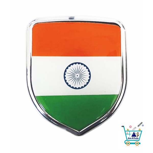 Indian Flag sticker