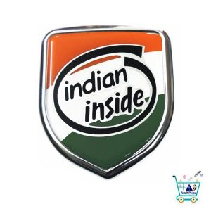 Indian Inside Best sticker for car