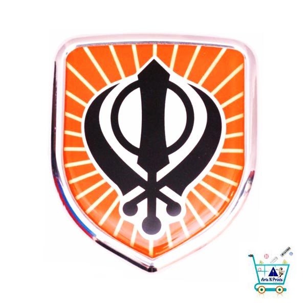 Khanda | the sign of Sikh | Stickers